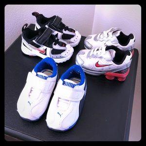 Nike & Puma Shoe Set for Toddler